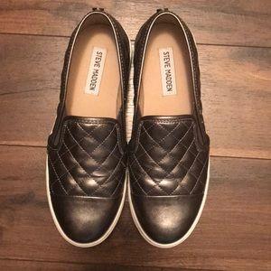 Steve Madden EcentrcQ Shoes Chrome